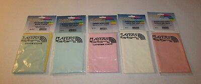 5 Unopened Players Music Accessories Silver Tarnish Cloth Cleaning Brass Wood