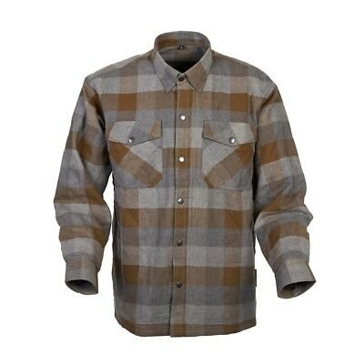 Scorpion Covert Flannel Kevlar Lined Shirt Tan/Brown