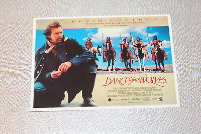 Carte Postale - Dance with Wolves P1267 Picture Postcard Movie
