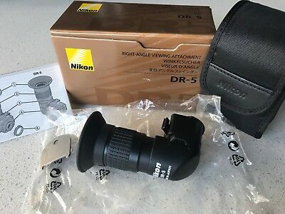 Genuine Nikon DR-5 Right Angle Viewfinder