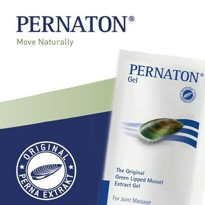 The Original Pernaton Green Lipped Mussel Extract Gel & Capsules Joint Massage