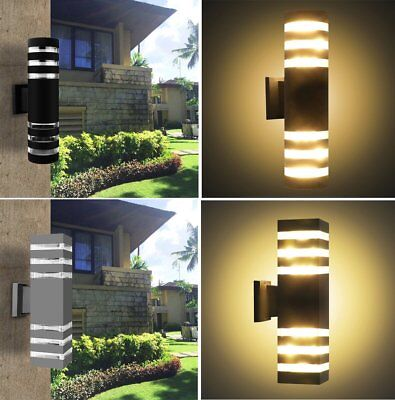 Up Down LED Wall Light Waterproof Lamp Outdoor Indoor Home Lamp Cylinder Cuboid