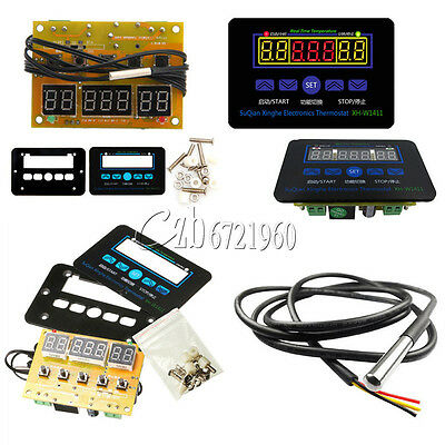 12V 220V XH-W1411 LED Temperature Controller 10A Thermostat Control Switch+Probe