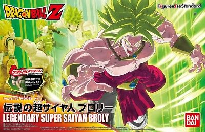 Figure Rise Standard Dragonball Z Super Saiyan Broly model kit Bandai