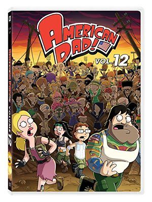 American Dad! Volume 12 DVD 2017 (Free Fast Shipping) (US Seller)