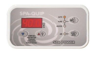 Davey Spa Power Touchpad Control SpaPower SpaQuip SP601 incl. Decal Rectangular