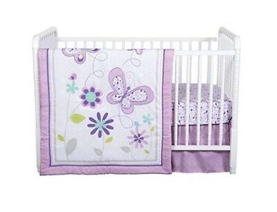 baby sheets set Trend Lab Lilac Butterfly 4 Piece Crib Bedding Set, Purple gift