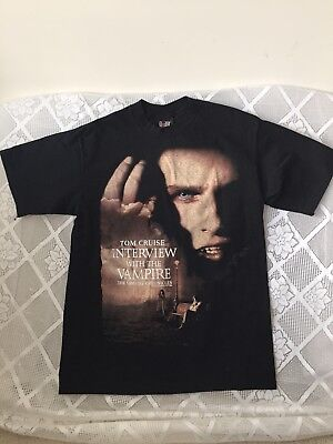 Vintage Interview With The Vampire Shirt 1994 Sz L Tom Cruise Anne Rice