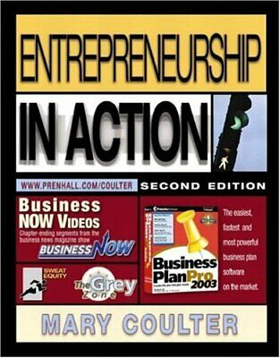 Entrepreneurship in Action by Coulter, Mary A. Paperback Book The Cheap Fast