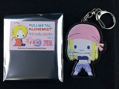 Fullmetal Alchemist Trading Acrylic Key Holder Ring Vol.1 Winry Rockbell New