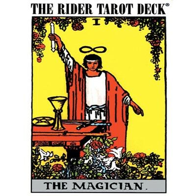 Rider-Waite Tarot Card with Guidebook by Arthur Edward Waite - Brand New