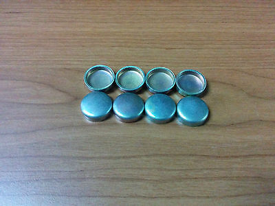8 x 15mm - Freeze Plugs Core Plugs - CUP TYPE - Cylinder Engine Block Water Cups