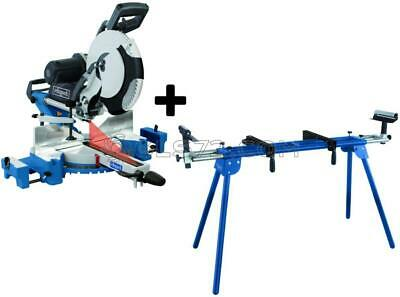 DOUBLE BEVEL MITRE SAW 305MM 2000W 230v SCHEPPACH HM120L + LEG STAND UMF2000