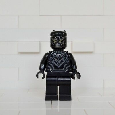 NEW LEGO Black Panther Minifigure (76047) | MELBOURNE Stock
