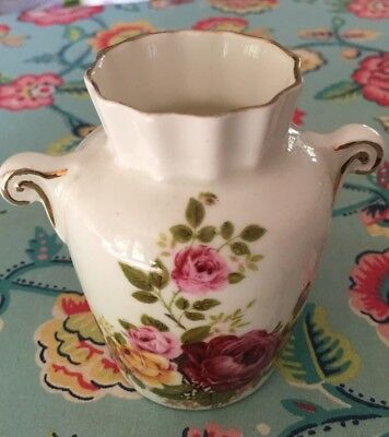 Beautiful Bone China Sutherland Miniature Floral Vase