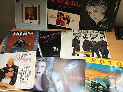 52 Schaltplatten Madonna, Swing out Sister, Culture Club, Lindenberg, Mandy, Off