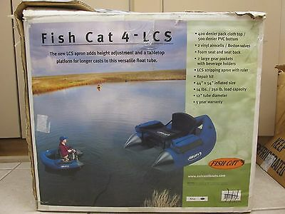 Outcast Fish Cat 4 LCS Float Tube - Blue - Used