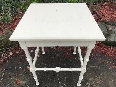 1 Antique Aesthetic Movement Shabby Chic Hall Occasional Table
