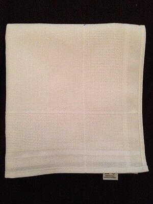 Cream Table Runner For Embroidery Cross Stitch 100 X 45Cm 10 Count