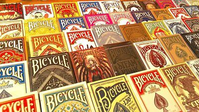 Original Bicycle Uspc Decorated Playing Cards Decks Poker Made In Usa