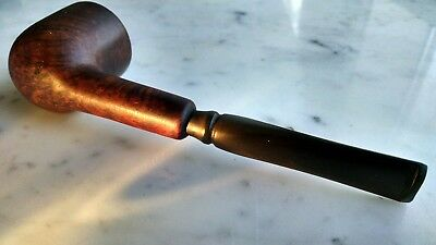 Meerschaum Lined Briar Wood Tobacco Smoking Pipe Unmarked Vintage Estate