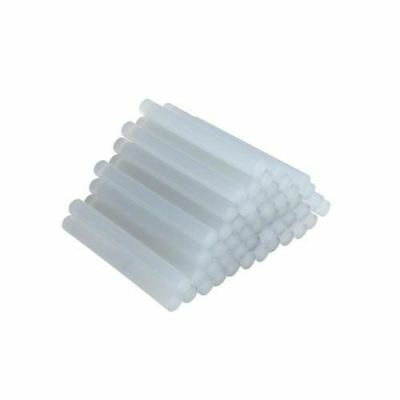 Silverline Pack of 50 Hot Melt Glue Sticks 11mm x 100mm Wood Fabric Plastics