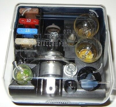 Motorcycle Bulb Fuse Kit Compact easy to store has includes Plastic travel case