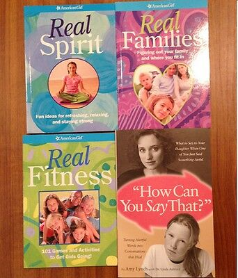 New American Girl Real Fitness;families;spirit Books & How Can You Say That Book