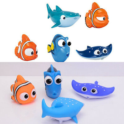 Baby Bath Toy Nemo Squirt Kids Float Water Tub Rubber Bathroom Play Animal