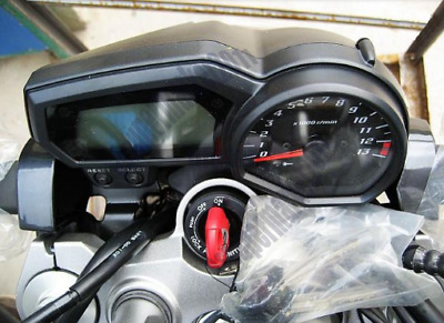 Up+Down SpeedoMeter Gauge Instrument Tach Cover House Fit For Yamaha FZ6N 07-09