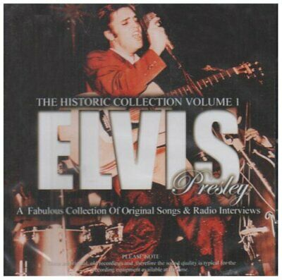 Elvis Presley - The Historic Collection Vol.1 - Elvis Presley CD RRVG The Cheap