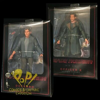 BLADE RUNNER 2048 Series 1 Rick DECKARD & OFFICER K Action Figure Set NECA 2017!
