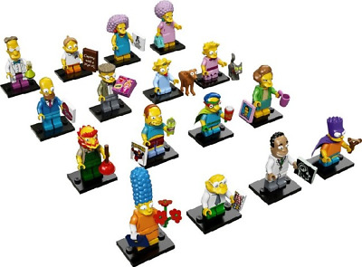 Genuine Lego Minifigures Brand New Simpsons Series 2 71009-1 Choose Your Own