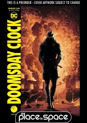 (Wk13) Doomsday Clock #4B - Variant - Preorder 28Th Mar