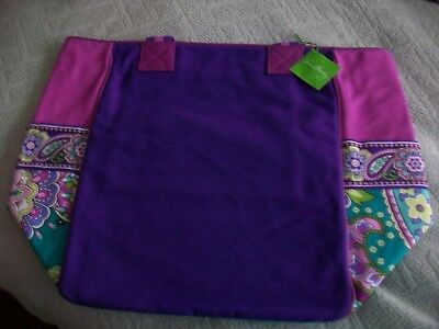 Vera Bradley  Tote Large  Color Block   In Heather  Nwt***