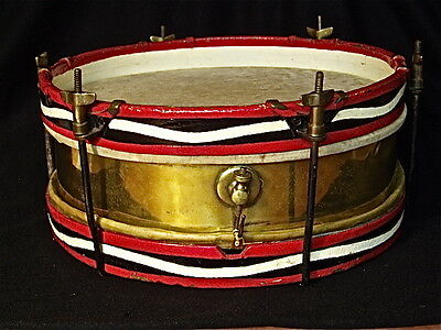 BRITISH ANTIQUE SNARE DRUM - 100% original / VERY RARE
