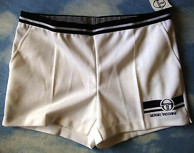 SHORTS TENNIS vintage 80's  SERGIO TACCHINI team tg.50-L New Made in Italy RARE
