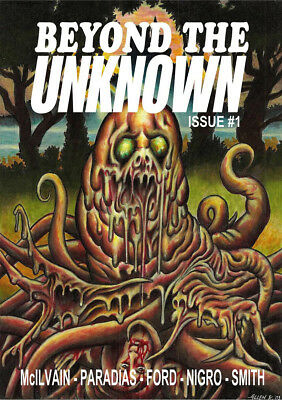 232 BEYOND THE UNKNOWN #1 Rainfall chapbook Tales of weird horror.