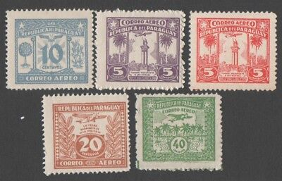 Paraguay.  1931 Airmail. MH