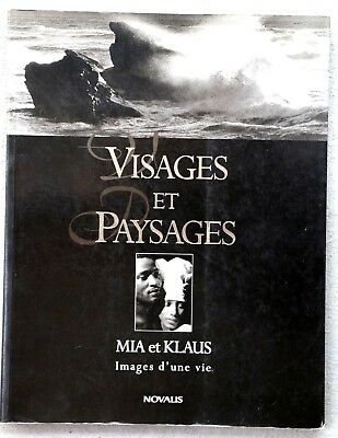 Mia Et Klaus Visages Et Paysages Black And White Photography Book