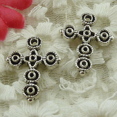 free ship 150 pieces Antique silver cross charms 31x20mm #2597