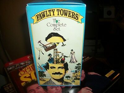 Fawlty Towers Complete Vhs Set.