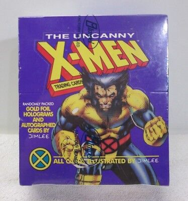 X-Men The Uncanny Trading Cards Jim Lee - Impel 1992 FS