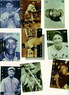 1994 Upper Deck General Motors Complete Set w/Babe Ruth,Ty Cobb,Mickey Mantle,