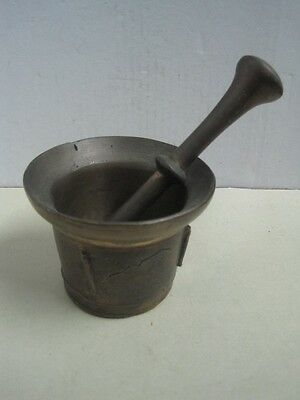 Antique big Bronze Mortar and Pestle
