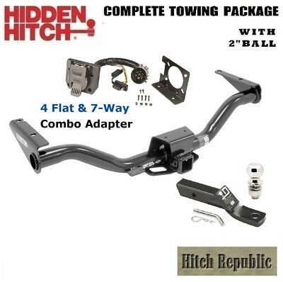 "FITS 2015-2019 CHEVY COLORADO, CANYON w TOW,  TRAILER HITCH PACKAGE w 2""  87675"