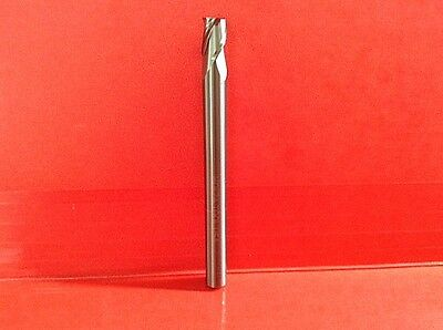 "1/4 Easy To Use 1/4 Loc 4"" Long Jig Router Carbide Bit Endmill Lower Kit Usa"
