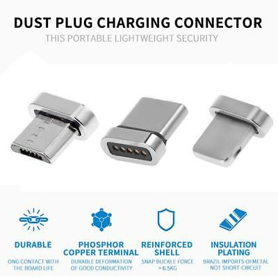 Magnetic Phone Adapter Fast Charging Connector for iPhone IOS Android Type-C