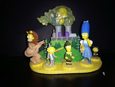 The Simpsons THERE'S NO PLACE LIKE SPRINGFIELD Hamilton Statue Set WIZARD OF OZ