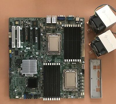 TYAN S8230 S8230GM4NR (DUAL G34 SOCKET) + 2x Opteron 6128 + Dynatron Coolers